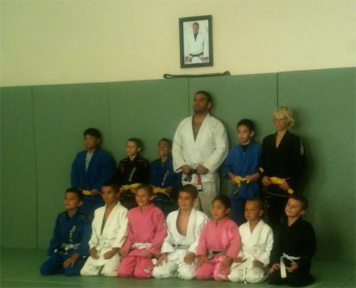 Lahaina Maui Jiu Jitsu Belt Promotion
