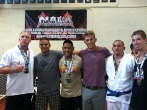 NAGA Champions from Christian Grandi's Carlson Grace Jiu Jitsu Academy. Representing Lahaina Maui Jiu Jitsu